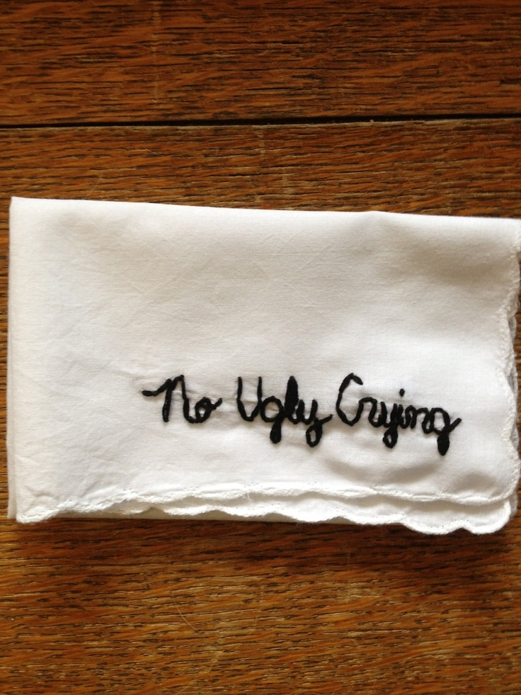 This hanky for your bridesmaids