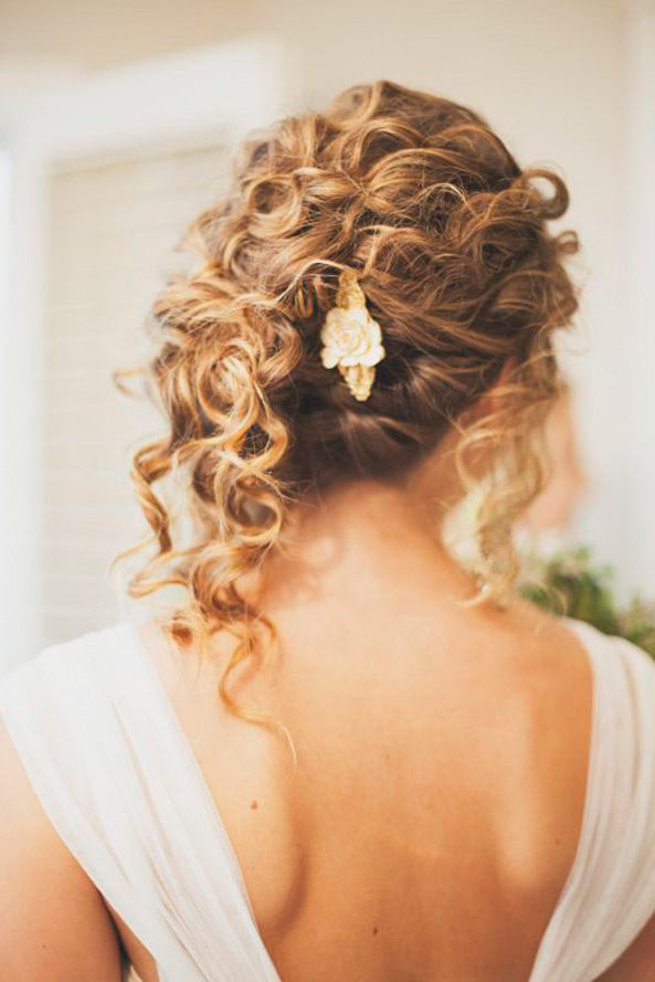curly hairstyles for your wedding day