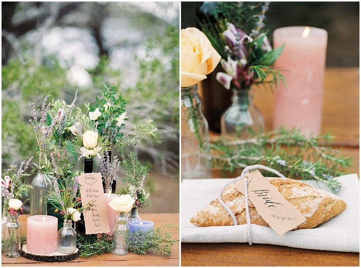 A Rustic Eco-Friendly 'Under The Pines' Inspiration Shoot in Ibiza