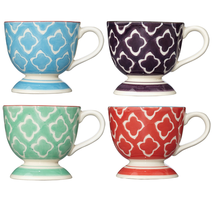 OKA Esme Espresso Cups, Set of 4