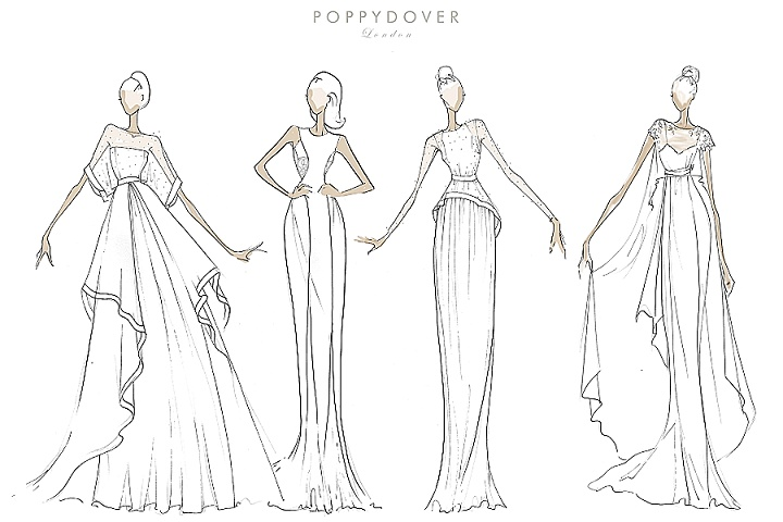 Bridal Style: Poppy Dover Bridal New Collection