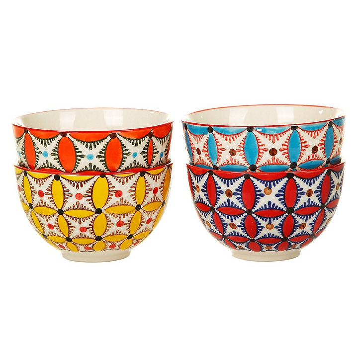 Pols Potten Colour Hippy Set of 4 Bowls