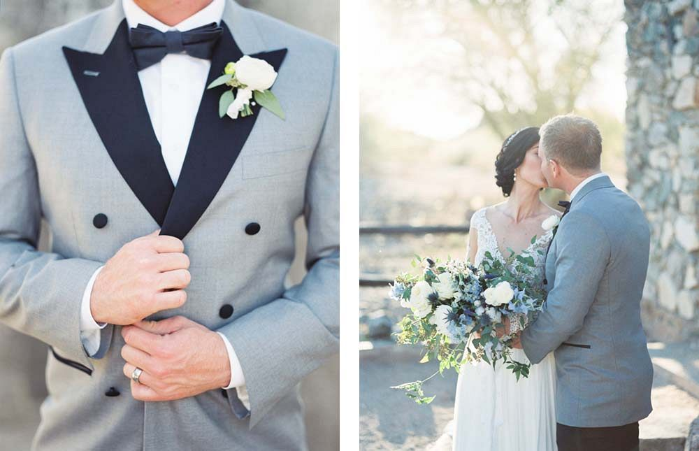 Elopement among Desert Ruins by Charity Maurer Photography | Wedding Sparrow | fine art wedding blog