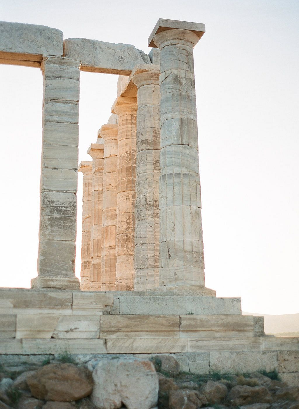 Jennifer and Alexis' Wedding at Temple of Poseidon, Greece