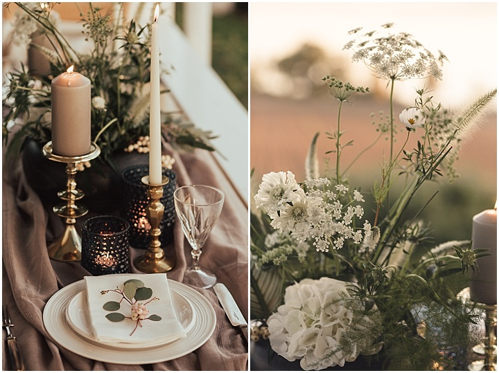 Elegent Boho Norwegian Lakeside Inspiration