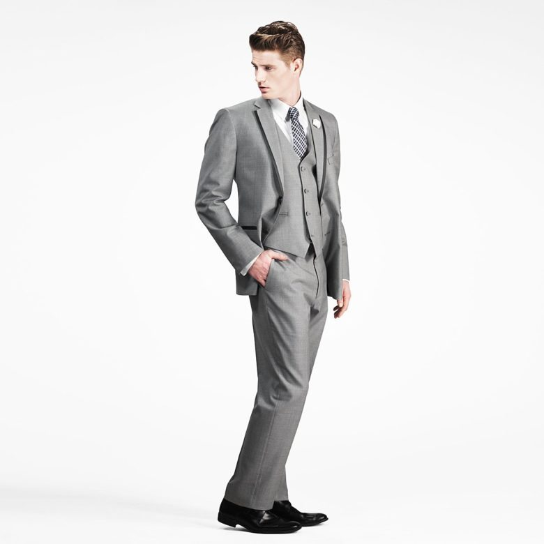 gray notch tuxedo from gentux