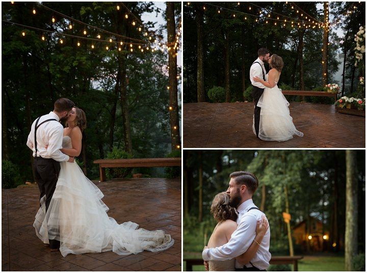 Rustic Glam Treehouse Wedding in Ohio, with beautiful florals By Imagine It Photography