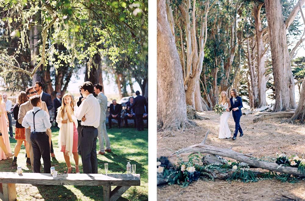 Lauren and Chris' Laid Back Outdoor Wedding by Katie Hyatt Photography | Wedding Sparrow