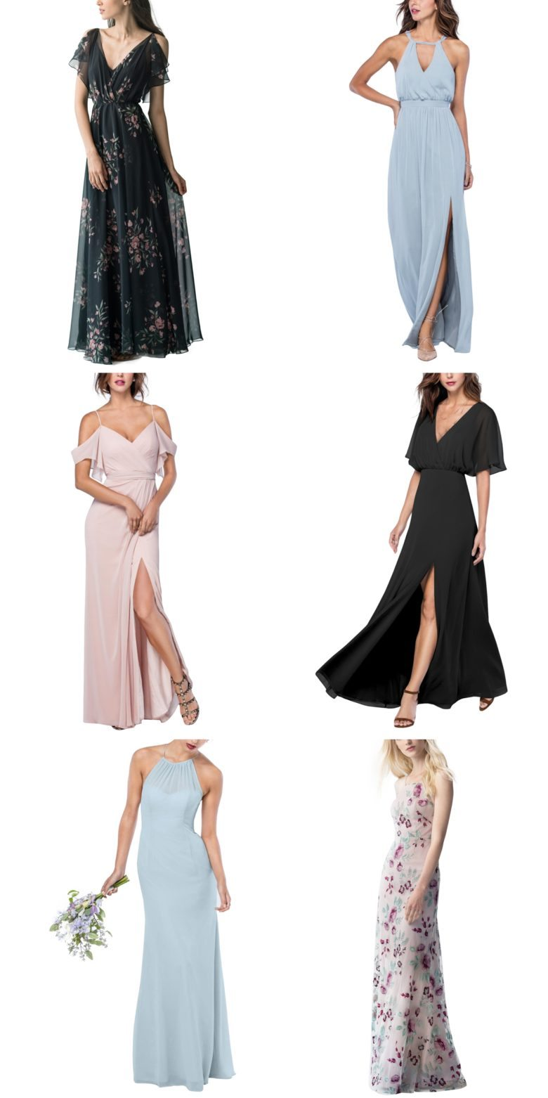 bridesmaid dresses from brideside