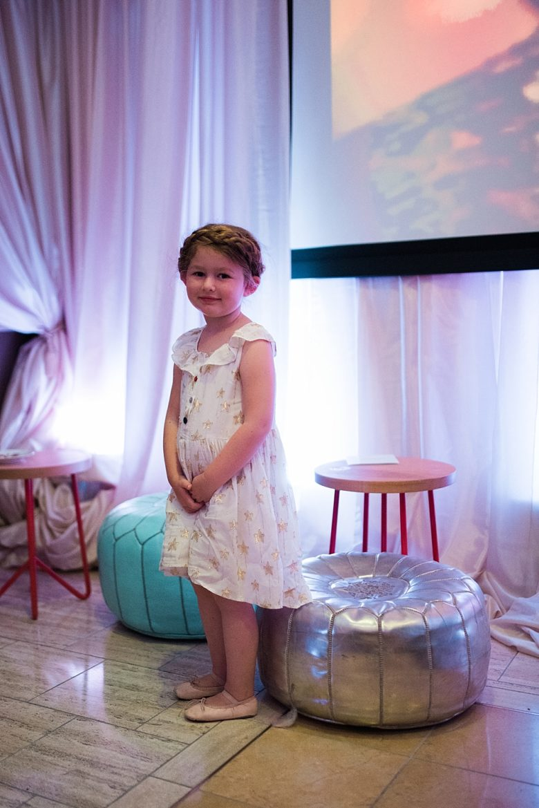 a young girl at the cream event 2017