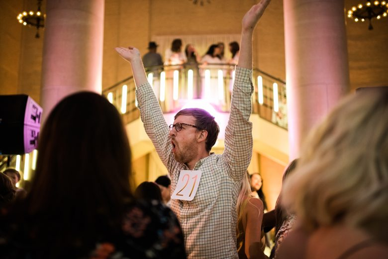 a man dancing at the cream event 2017