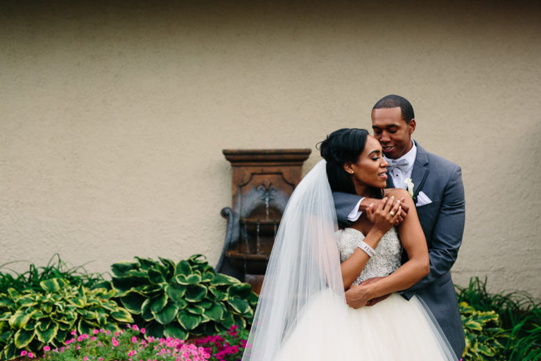 Desiree and Daniel's wedding at The Villa in East Bridgewater, MA | Kelly Benvenuto Photography | Boston Wedding Photographer