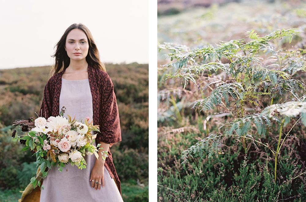 Modern and Earthy Autumnal Vow Renewal by Taylor and Porter | Wedding Sparrow