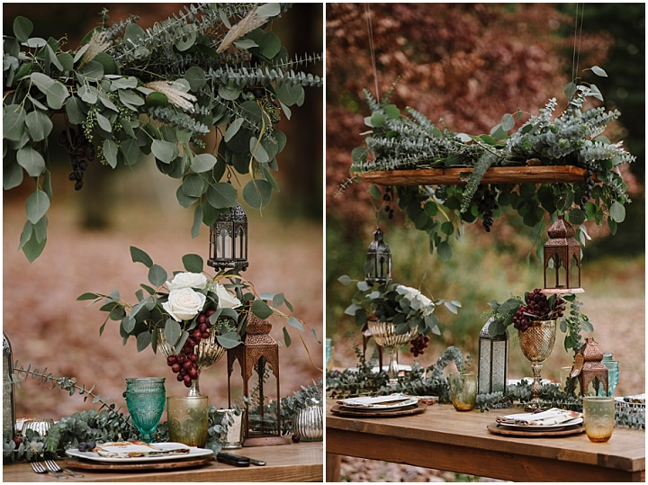 Moroccan Inspired Outdoor Autumn Shoot by Tara Draper Photography