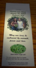 custom wedding seed favors