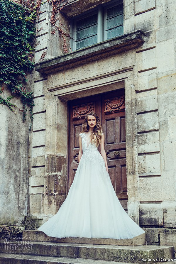 Sabrina Dahan 2016 Wedding Dress Series