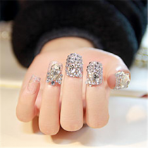 Bling Bling 2016 The Most Popular Style Bridal Nail