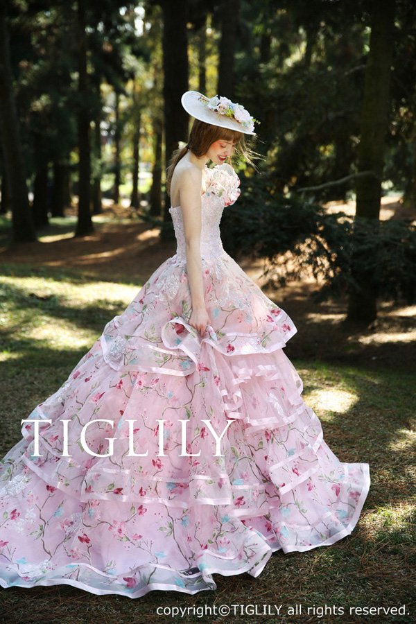 Wedding brand Tiglily 2016 wedding dress series-1
