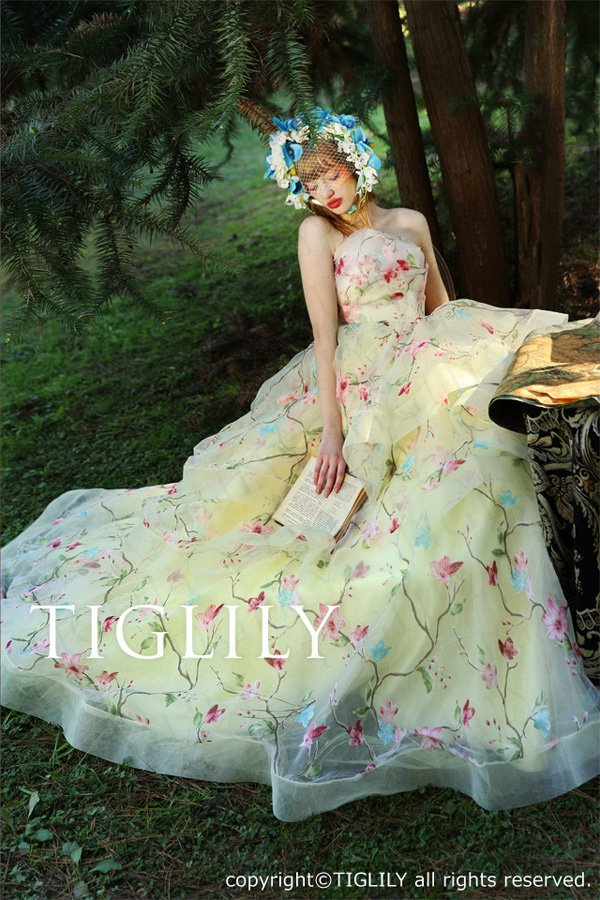 Wedding brand Tiglily 2016 wedding dress series-2