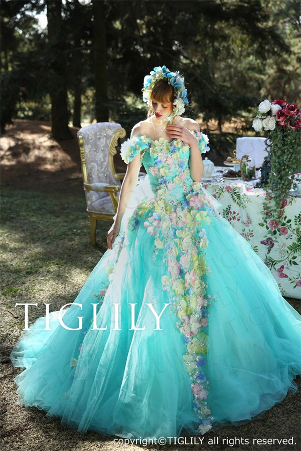 Wedding brand Tiglily 2016 wedding dress series-3