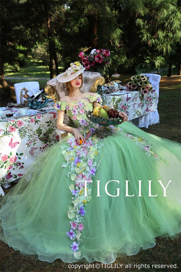Wedding brand Tiglily 2016 wedding dress series-5