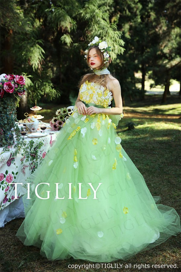 Wedding brand Tiglily 2016 wedding dress series-6