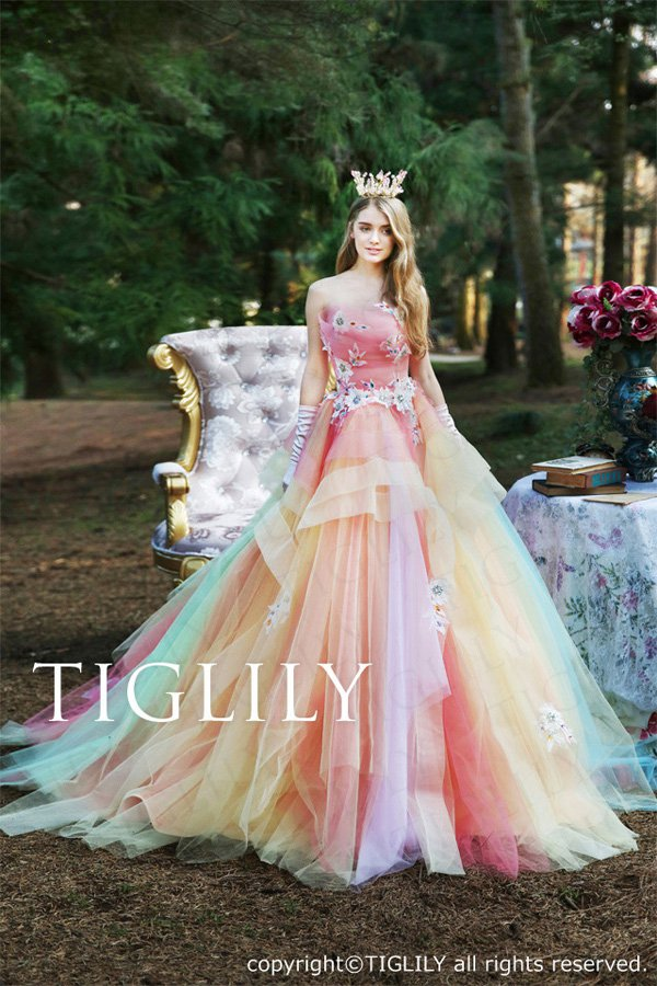 Wedding brand Tiglily 2016 wedding dress series-9