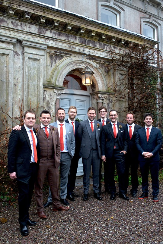 the groom and the groom brothers