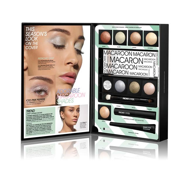 MACAROON MAKE-UP GIFT SET FROM FRONT COVER