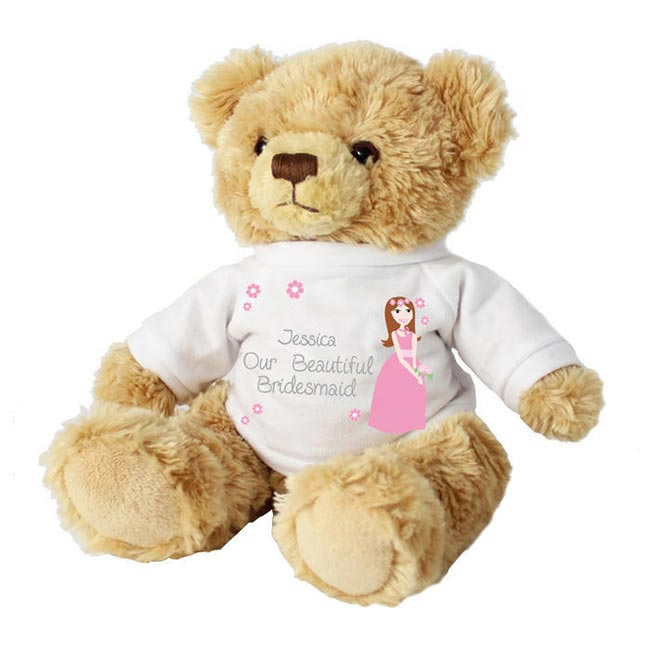 BRIDESMAID TEDDY FROM CONFETTI