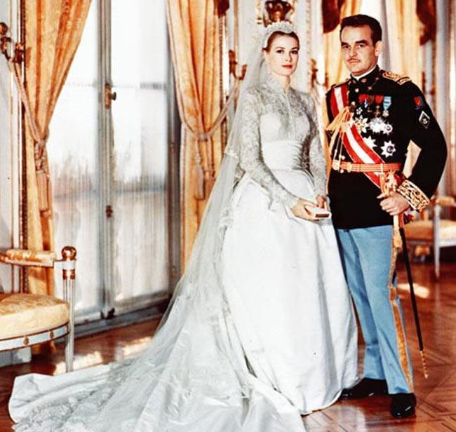 Grace Kelly's Wedding Dress
