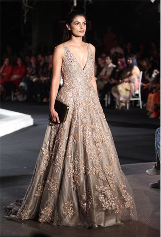 An Embellished Gown