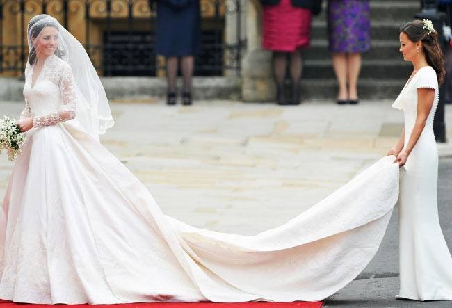 Kate Middleton's Expensive Wedding Dress