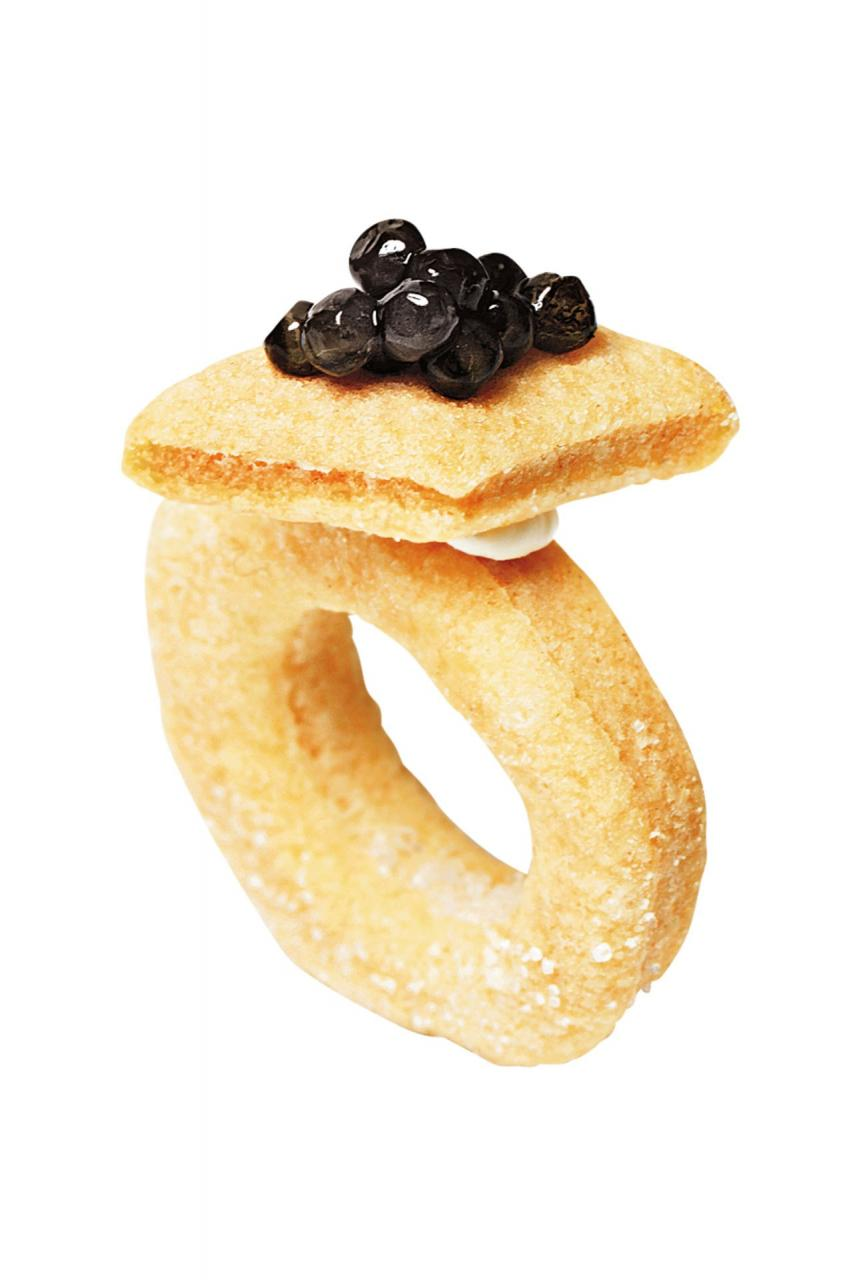 Mini ring cookies